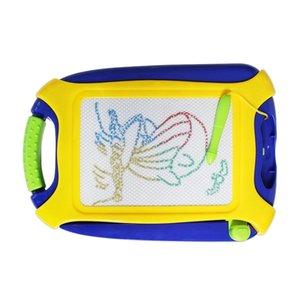 Magnetic Doodle Board Bunte Zeichenbrett, löschbare Sketching-Auflage für Kinder, Spielzeug für das Schreiben Malen und Lernen, Tragbarer
