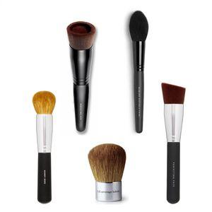 Minéraux Perfecting Visage Brosse Kabuki Fond de teint liquide nu Pinceaux haut de gamme visage Brosse de maquillage