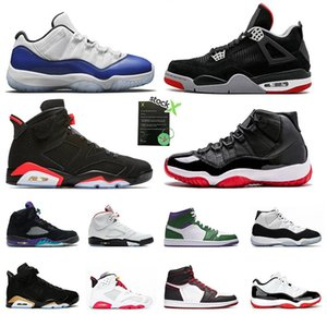 Basketball Shoes 11s 12 Men sports WMNS Bred Fire RED incredible hulk fiba Game Royal black Infrared DMP Sneakers Mens Trainers