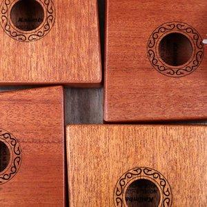 10 17 keys Kalimba African solid Mahogany Acacia Thumb Finger Piano 17 keys Solid Wood Kalimba Musical Instrument Hot Sale