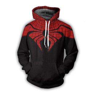 Avengers Hoodie Kazak Spiderman Kaptan Amerika Deadpool Spiderman Venom Casual Kazak Kapüşonlular Coat OutfitMX191011 süper kahraman