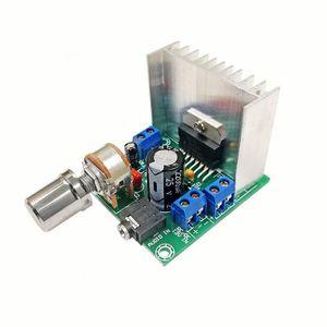 2ST TDA7297 Endverstärkerbrett / digital Endverstärkerbrett / DC 12V kein Zweikanal 15W + 15W Rauschen (B board)