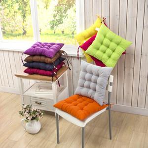 Espesar Inicio del asiento del cojín del amortiguador Oficina invierno Silla de la barra del asiento trasero de cojines del sofá almohadilla de la silla de glúteos 40x40cm Cojín