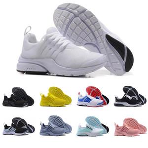 Yeni Presto erkekler kadınlar Nefes koşu ayakkabıları üçlü siyah beyaz sarı kırmızı mavi hafif koşucular erkek eğitmenler spor sneakers
