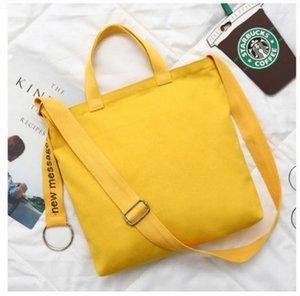 La nuova borsa di tela ricamata per uomo e donna a tracolla può essere personalizzata in multi-colore di grande capacità comoda borsa per computer