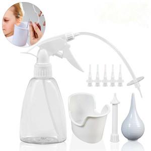 300ml di orecchio rimozione della cera Tool Kit Ear irrigazione Cura Lavatrice Bottiglia sistema con punte di pulizia tacca del tappo siringa a bulbo adulti Kid