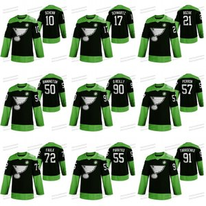 Hockey Luta nCoV St. Louis Blues Vladimir Tarasenko David Perron Tyler Bozak Ryan O'Reilly Alex Pietrangelo Binnington Blais Jersey