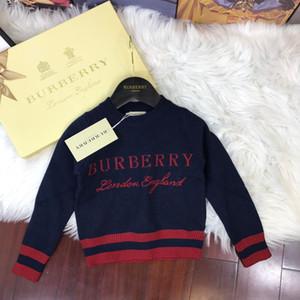 Inverno camisolas para crianças Vestidos Vestuário Meninos Pullover Hoodies 2019 de Nova Camisola Crianças Garment manga comprida 011101