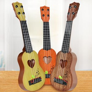 39cm 44cm Mini Ukulele Simulation Guitar Kids Musical Instruments Toy Music Education Development Kids Birthday Christmas Gift