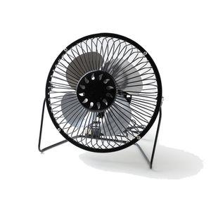 Portable Mini USB Fan 6 Inch Metal Cooling Fan Desk Fan Air Circulator Quiet Operation for Home Office