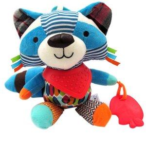 Bébé \ 's Cute Doll Toy peluche Lit suspendu hochets Teether Safe Lit Autour Poussette Pendentif Révolutions animal Jouet