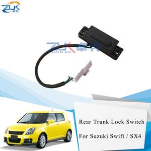 ZUK Tail Interruttore cancello Sblocco Per Suzuki Per Swift / SX4 2005-2016 Hatchback Trunk porta Tasto di blocco Interruttore