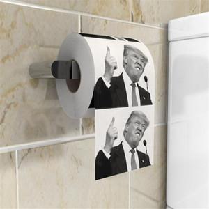 Trump Toilet Paper Presidente criativa US rolo de papel higiênico presente Prank engraçado papel para casa e jardim A03