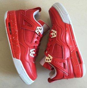 Hot Sale-Baskets femme Marque J4 Outdoor Sport Basketball Femmes Chaussures Rouge Feu Chaussure
