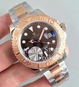 Montres de luxe pour hommes Montres Automatiques Hommes Cadran Brun Eta 3135 Mouvement Hommes Plongée Or Rose 116621 Sapphire Superlative Date Montres-bracelets