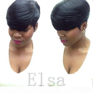 African Human Hair Short Lace Front Human Hair Wigs For Black Women Unprocessed Full lace Brazilian Lace front Wig On Sale