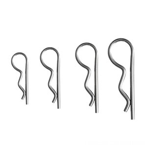 10pcs Marine Boat R Retaining Clips AntiRust Hair Pin Hitch 304 Fitness Equipments Fitness Supplies Stainless Steel Cotter Pin for Rowing Sa
