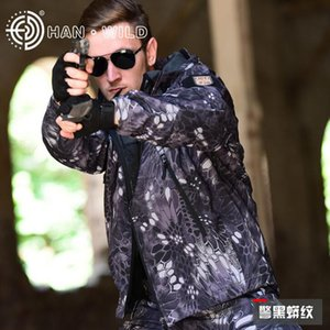 TAD Tactical Sharkskin Softshell Chaqueta o pantalones Army Camouflage Outdoor Hunting Clothes Men Sport Coat impermeable
