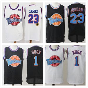 10 Lola TAZ Basketbol dikişli formaları Duck Space Jam Erkekler İçin Film Ayarlama Bölük 2 LeBron 6 James 23 Michael 1 Bugs Bunny 2
