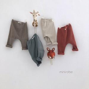 Solid Color design Boy girl spring fall 100% cotton all match Pants boy summer short