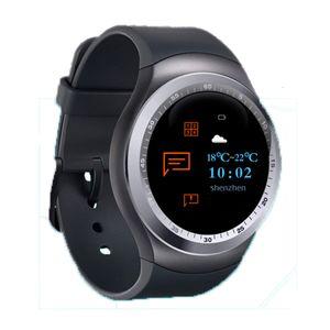 Y1 Smart Watch-Farbbildschirm Schritt Schlafüberwachung Wecker intelligente Bluetooth-Karte Sport Watchs Abnutzung für: IPHONE Samsung Huawei