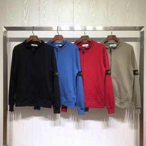 19 kış tasarımcı erkek lüks ceketler marka kazak erkek Mont Sokak spor Rüzgarlık rahat sıcak boy fermuar 20042202 T