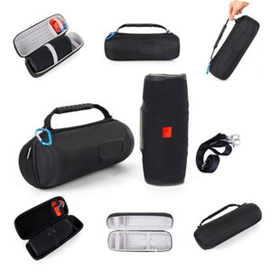 EVA Carry Storage Silicone Cases Pouch Bags Portable Zipper Carry Holder Boxs For  Charge 4 Bluetooth Wireless Speaker High Quality Cover