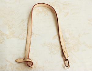 1.2 * 46 cm Sangles courtes de luxe Remplacement de la poignée de sac en cuir véritable