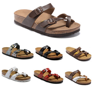 Mayari Flórida Arizona 2019 Hot vender verão Homens Mulheres chinelos planos sandálias Cork unisex sapatos casuais Praia chinelos tamanho 34-46