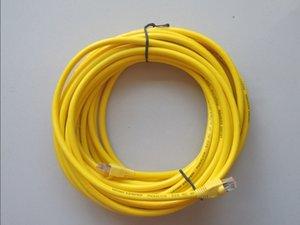 10-метровый высококачественный кабель локальной сети для icom Net Cable OBD2 диагностический кабель для bmw icom a2 / next желтый