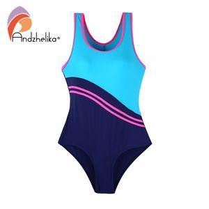 Andzhelika Kinder One-Piece Suits Schwimmt New Sport Kinder Badeanzug Mädchen Bodysuit-Badeanzug-Kind-Strand Monokini
