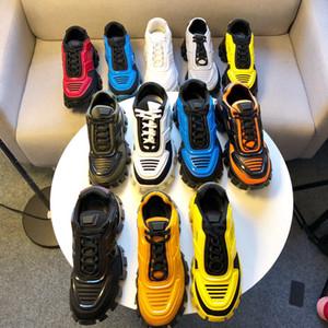 Date Rhyton Sneaker avec Atrawberry Wave Hommes Designer Femmes Casual Chaussures Mode Vintage top qualité chaussures pour femmes Papa Sneaker avec boîte