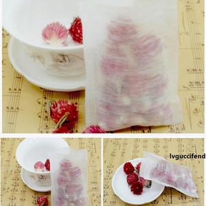 8 * 10cm Fibra de Milho Folding Esvaziar Tea Bag PLA biodegradado Teabag filtros descartáveis Herbal Tea Bags ZA5497