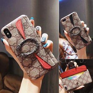 Caixa do telefone da mitologia grega Dionys Moda para iPhone X XS MAX XR 11 Casos de impressão Pro Voltar Slot para cartão tampa do telefone para o iPhone 8 8plus 7 7plus