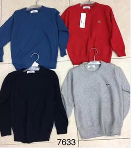 Autunno inverno Nuovo Baby Boy Abbigliamento Pullover Felpe con cappuccio Maglione Abbigliamento per bambini Designer Maglioni Maglia bambini pullover giacca