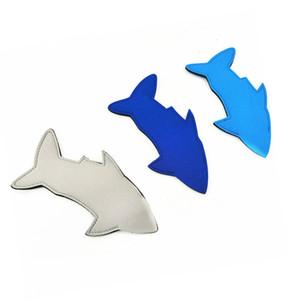 Hot New Shark Neoprene Popsicle Holder Koozies Fish Ice Pop Sleeves Freezer Blanks Kids Summer Birthday Party Favors