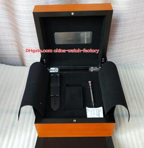 Lujo PAM 1950 Reloj Caja original Papeles Bandas de goma Cajas de madera Destornillador Bolso para PAM 005 111 217 312 382 441 438 507 616 Relojes