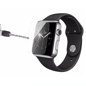 para Apple Watch 1 2 3 4,9H HD Protectores de pantalla de vidrio templado premium premium Protección Smart IWatches