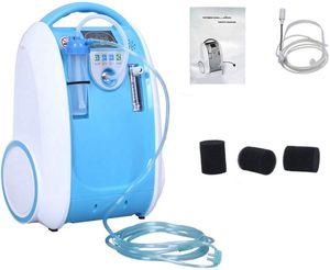 الأكسجين المحمولة المكثف مولد استخدام المنزلي 1-5L / دقيقة قابل للتعديل الأكسجين المحمولة آلة المنزل للسفر استخدام oxigeno medicoe AC110-220V