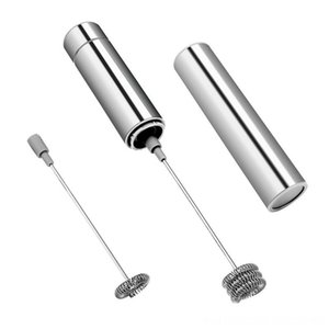 Portable Stainless Steel Frother Handheld Electric Milk Beater Kitchen Tools Kitchen, Dining & Bar Frother Fancy Coffee Egg Vegetable Blende