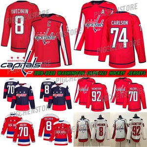 2018 Capitals Stadium Series Washington 8 Alex Ovechkin 77 TJ Oshie Evgeny Kuznetsov Backstrom Holtby Wilson Winter Classic Hockey Maillots