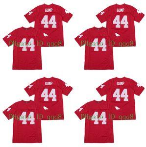 44 Forrest Gump Jersey Tom Han Rojo PELÍCULA del jersey del fútbol cosido tamaño S-XXXL