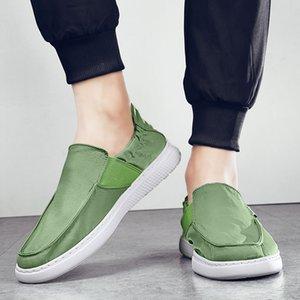 GOODRSSON 2020 мужские дышащие мокасины повседневная обувь мужская осенняя повседневная обувь горох удобная большой размер