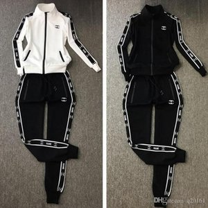 Woman Tracksuit Fashion Designer Hoodies+pants 2 Piece Sets Solid Color Brand Outfit Suits 2020 High Quality Tracksuits for Mens