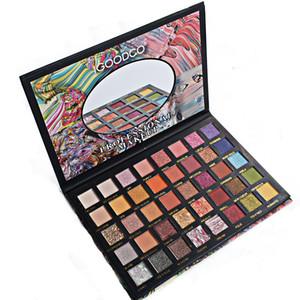 Brand Designer 40 Colors Eyeshadow Palette Makeup Eye Shadow new National geography Gradual Waterproof High Pigmented Cosmetics