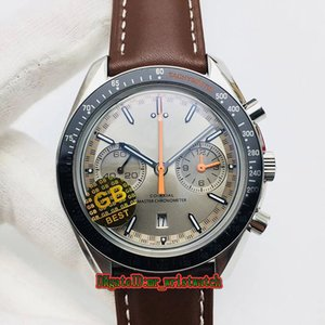 Top version GB Factory 311.93.44.51.99.001 Multifunction Dial 316L Steel Case Automatic Mechanical Sapphire Sport Mens Watch Leather Strap