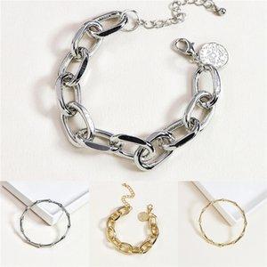 Lmnzb original del 100% del sólido 925 Cadena Sterling aleación de 20 cm de largo de la serpiente de boda joyería pulsera brazalete para las mujeres Regalo Lb005 J J 190429 190430 # 484