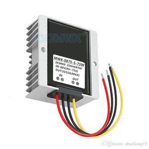DCMWX®-Buck-Spannungswandler 60V48V36V24V12V Drop-Down-Auto-Wechselrichter mit 5 V Eingang DC8V-75V Ausgang 5V3A5A8A10A12A15A wasserdicht