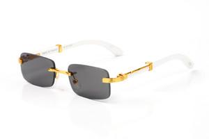 Moda Güneş gözlükleri Bay Bayan Unisex 2021 Ünlü Tutum Spor Çerçevesiz Ağaç Güneş Gözlükleri Çerçevesiz Çerçeve Çerçeve güneş gözlüğü Lunettes gafas için