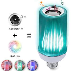 Цвет пламя лампа новая внешняя торговля приграничная электронная коммерция горячая новый Bluetooth цвет дистанционный контроль пламя звук лампа